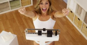 happy woman weight loss Richardson