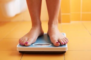 feet on scale for weight loss in Richardson